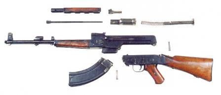 AK-46 prototype disassembled