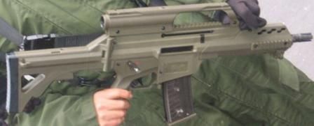 FX-05 Xiuhcoatl assault rifle (Mexico)