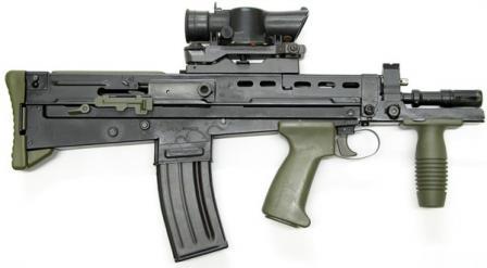 L22A1 carbine