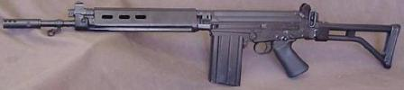 Модификация винтовки FN FAL для воздушно-десантныхвойск - FAL Paratrooper (также известна как FAL50.63)