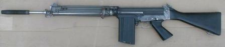 Австрийский лицензионный вариант FN FAL - Steyr Stg.58