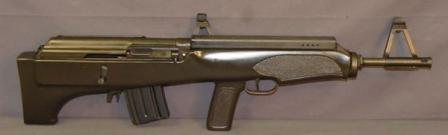 Valmet Model 82 rifle in .223 Remington, with 10-round magazine, right side view