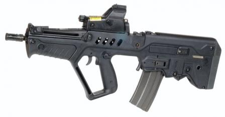Tavor CTAR 21 assault rifle (compact version)