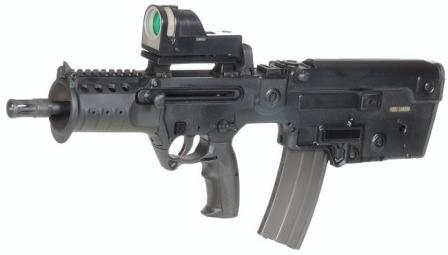 Tavor MTAR 21 assaultrifle (micro version)