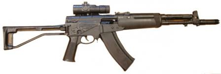 Late production model AEK-971 rifle in 5.45x39mm with red-dot sight