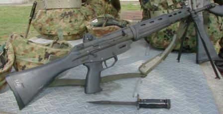 Type 89 assault rifle