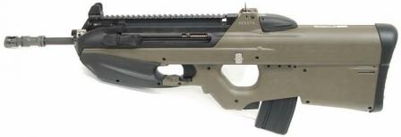 FN FS2000, a semiautomatic-only version for civilian shooters