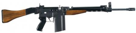 7.62x51 NATO SIG AMTsemi-automatic rifle, as made for civilian sales