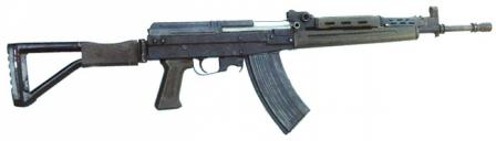5.8x42 Type 87-1 experimental assault rifle, used to develop and test 5.8mm DBP87 cartridge for QBZ-95 rifle