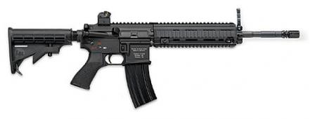 HK416 carbine with 14.5 inch (368mm) barrel