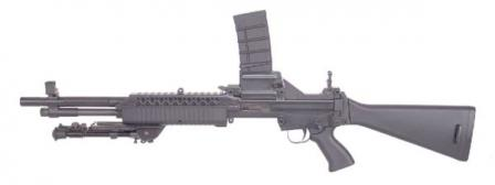 Robinson Armaments M-96 rifle in top-feed (