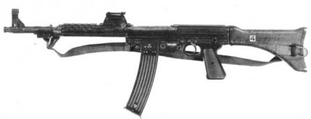 Walther MKb.42(W) machine carbine / assault rifle (Germany)