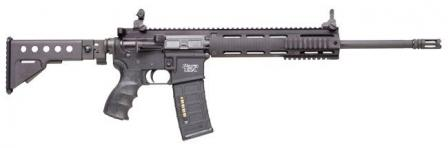 Para USA Tactical Target Rifle, with buttstock open