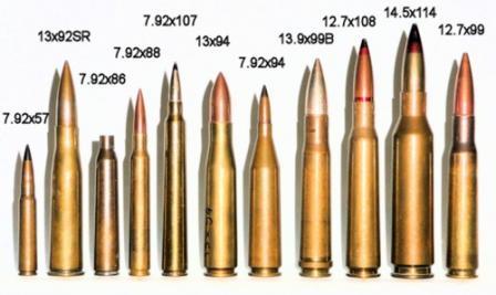 патроны для противотанковых ружей