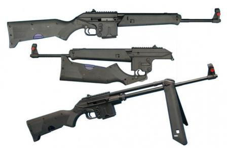Kel-tec SU-16A rifle in various configurations.