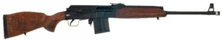 Saiga 308 rifle with