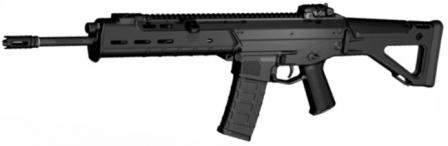 MAGPUL Masada / BushmasterACR - Adaptive Combat Rifle in standard configuration with 16in barrel and side-folding stock.