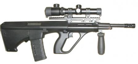 TPD Inc. AXR rifle,right side.