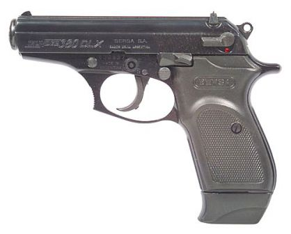 Bersa Thunder-380 deluxe with extended magazine.