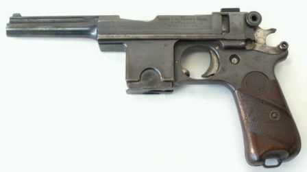 Bergmann Bayard model 1910 pistol, made in Belgium by Pieper.