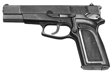 FN HP-DA (Browning Double Action) - early model.