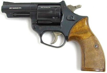 FN Barracuda revolver with .357 magnum cylinder installed