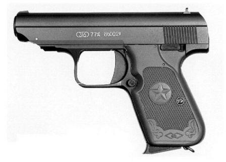 Tip 77 tabanca, sol taraf