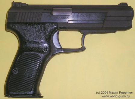 NORINCO Model 77B pistol, right side view.