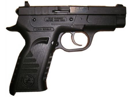 CZ-TT pistol, right side view
