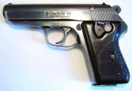 Pistol Vzor 50, also known as vz.50 or Cz-50