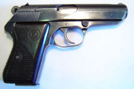 Another view on Vz.50 / cz-50 pistol