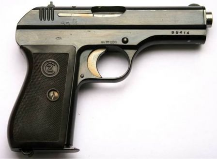 CZ 27 / s.27 (t) tabanca (Czhechoslovakia)