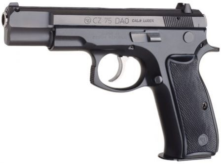 CZ 75DAO, with double action only trigger