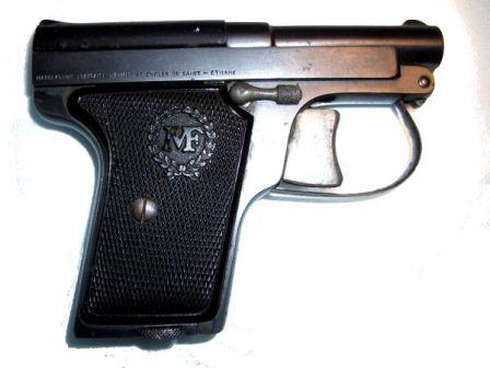 Manufrance Le Français Cep tabanca, 6.35mm kalibre orijinal modeli