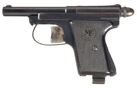 Manufrance Le Français Polis tabanca, kalibre 6.35mm