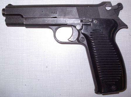 Mle.1950 tabanca, sol taraf