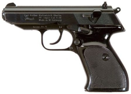 Walther PP Super pistol (Germany)