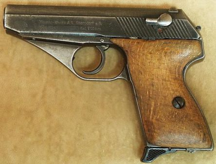 Mauser HSc - pre-war manufacture in 7.65mm (.32ACP).