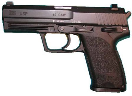 HK USP in .40SW - basic version.