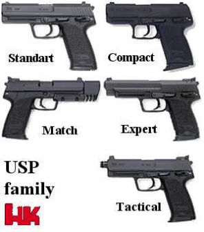 The family of the USP handguns.
