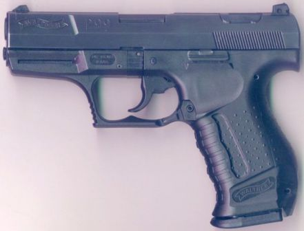 Walther P99 pistol (1st generation).