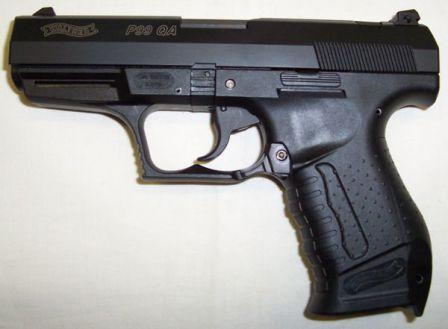 Walther P99 QA tabanca.