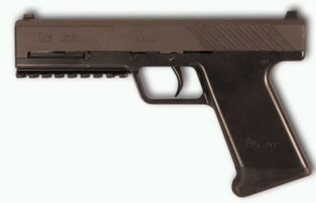 Heckler-Koch Ultimate Combat Pistol - early prototype (2003).