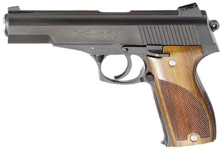 9mm Korriphila pistol with 127mm / 5