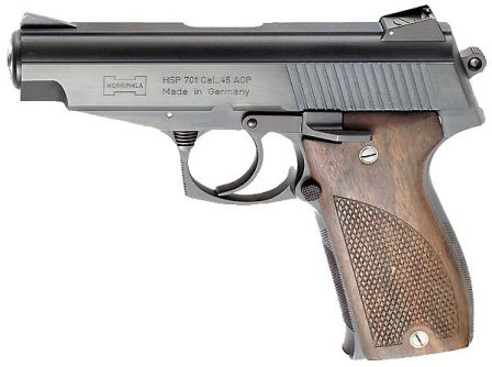 .45ACP Korriphila pistol with 102mm / 4