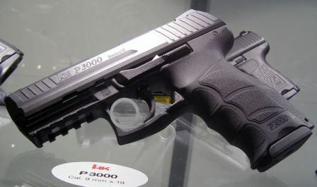 HK P3000 prototype pistol, which evolved into P30.