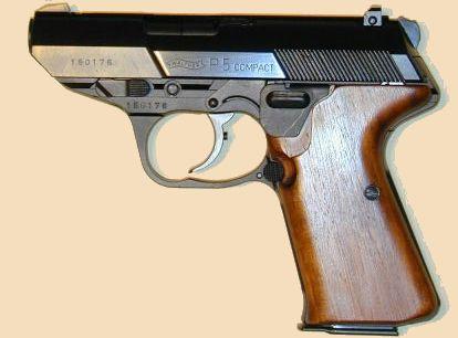 Walther P5 Kompakt.