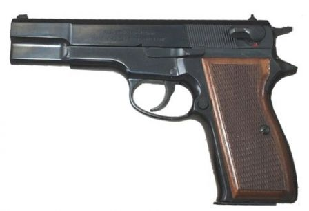 Early production FEG P9R pistol.
