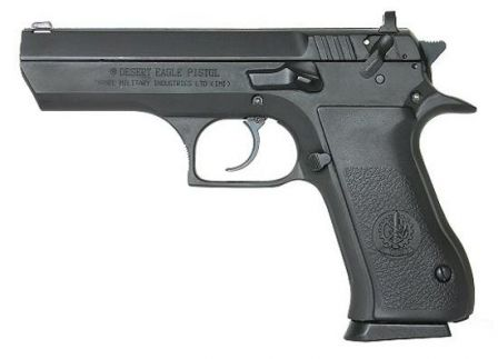 Full-size Jericho 941 pistol with slide mounted safety-decocker, marked as