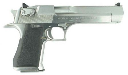 Current production Desert Eagle Mark XIX, caliber .50AE.